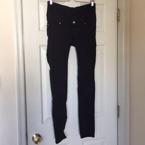 Maternity H&M black skinny pants size 10